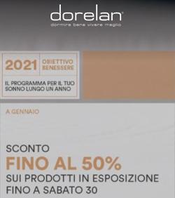 Dorelan Sconti fino al 50%
