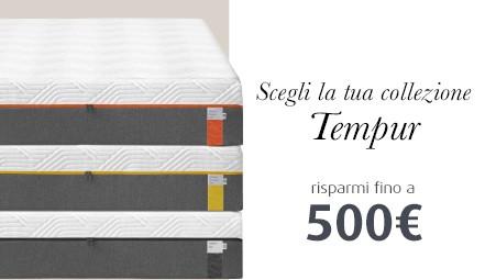 Offerta Tempur Risparmi Fino A 500 Euro Materassi Roma